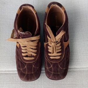 BCBGMaxazria Suede Bowling Shoes